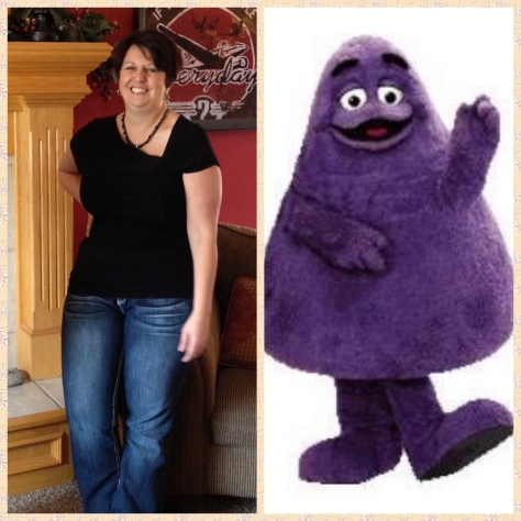 Grimace Collage