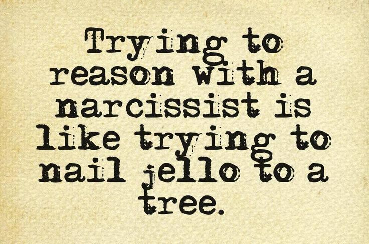 Winning An Argument With A Narcissist